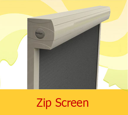 Zip screen